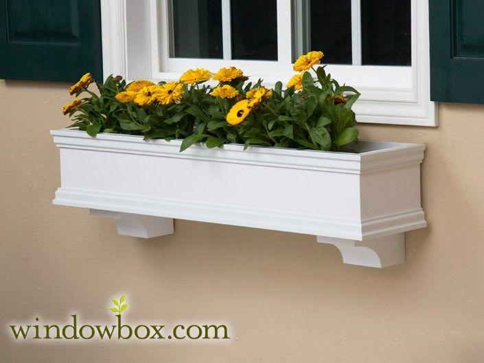 The Lancaster Direct Mount Window Box Window Box Flower Window Window Planter Boxes