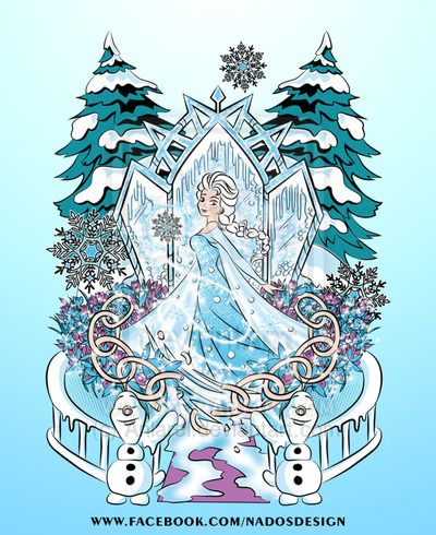 The Snow Queen by Anlarel on DeviantArt