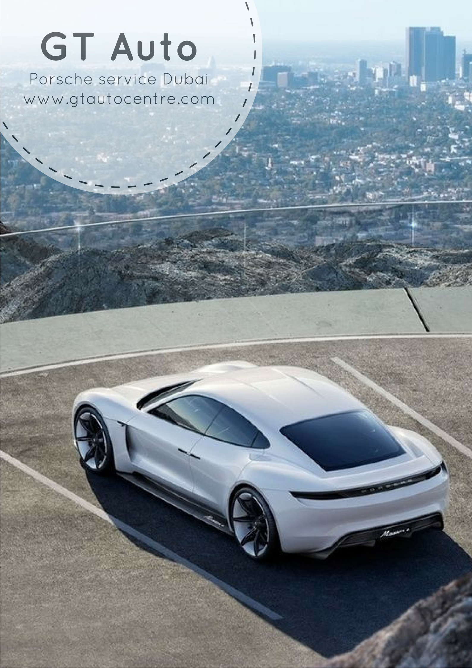 Best Sports Cars : Porsche Mission E Concept,