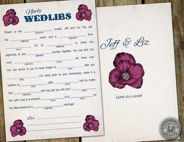 25 Ideas for Making a Wedding Awesome