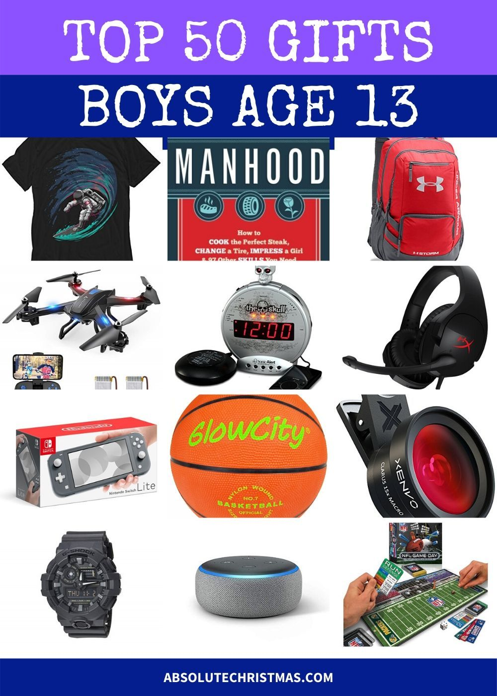 Best Gifts For 13 Year Old Boys 2020 13 Year Old Boys 13 Year Old Christmas Gifts Gifts For Boys