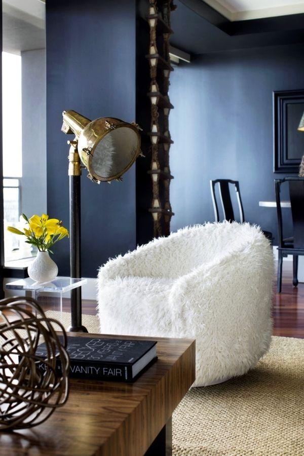 Einrichtungsideen mit Fell kuschelige Möbel für kalte Wintertage!