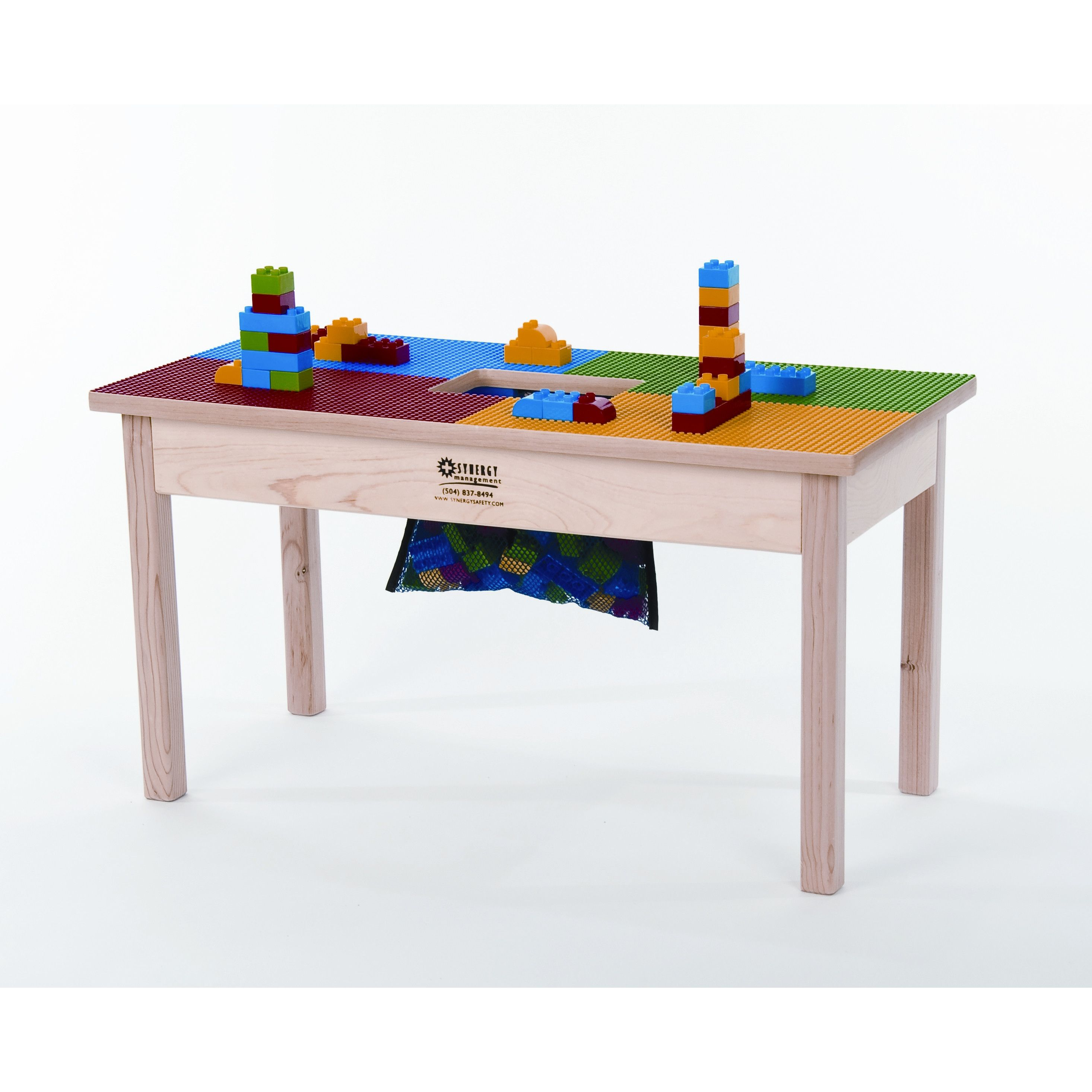 Brilliant Zoomie Kids Cornwell 16 X 32 Fun Builder Table Play Download Free Architecture Designs Sospemadebymaigaardcom