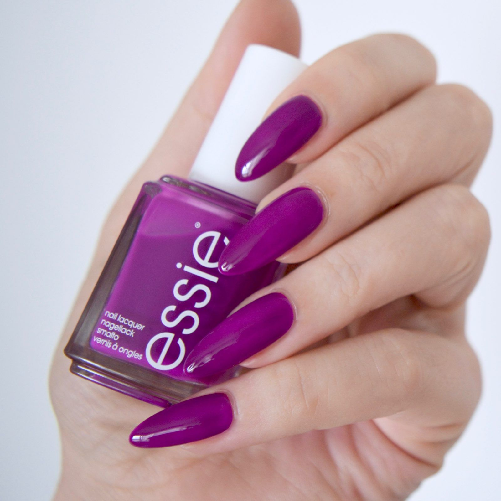 Essie Neon 2017 Review With Swatches | Neon purple, Neon and Manicure