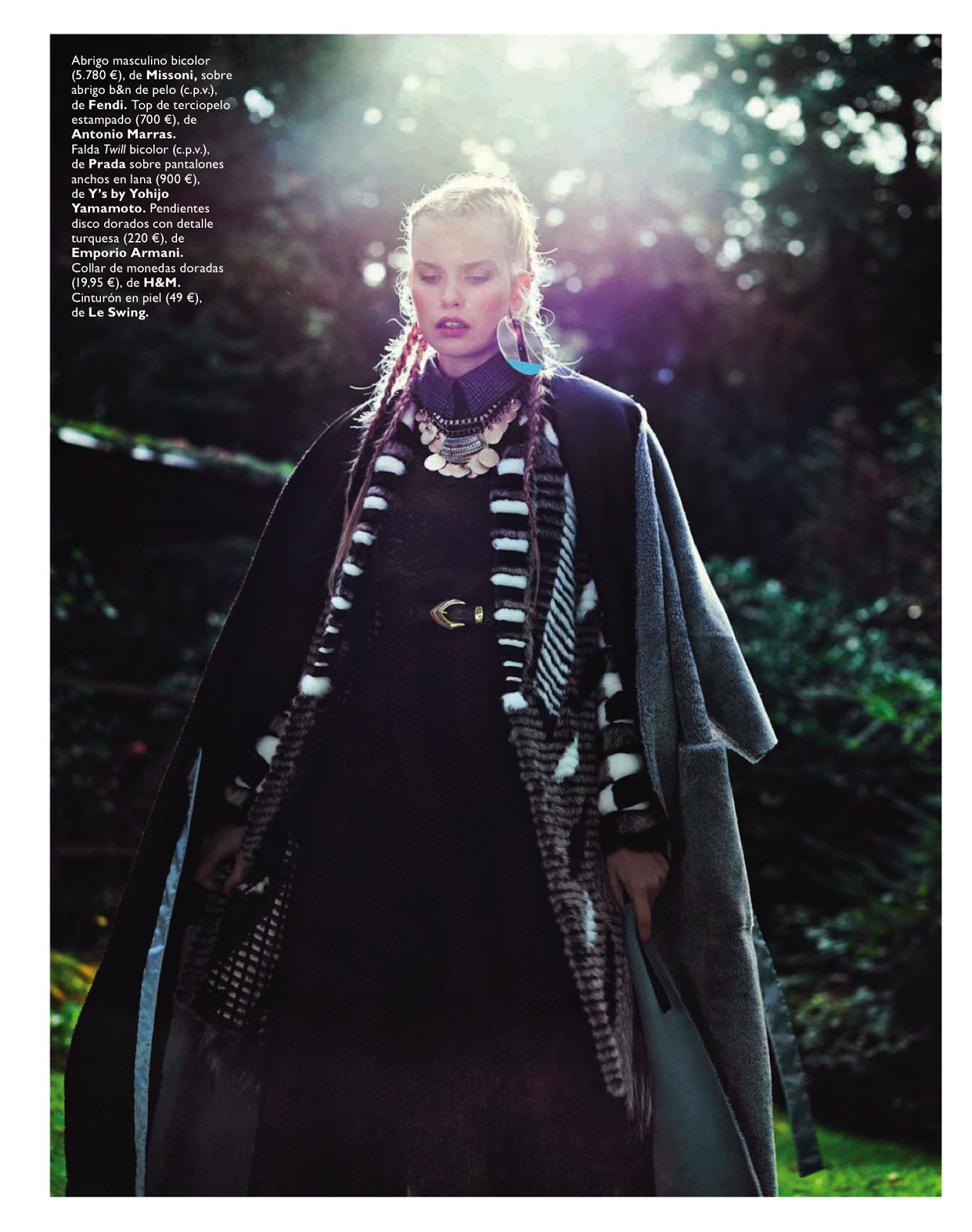 visual optimism; fashion editorials, shows, campaigns & more!: winter is coming: marleen gaasbeek by jolijn snijders for grazia spain 23rd october 2013