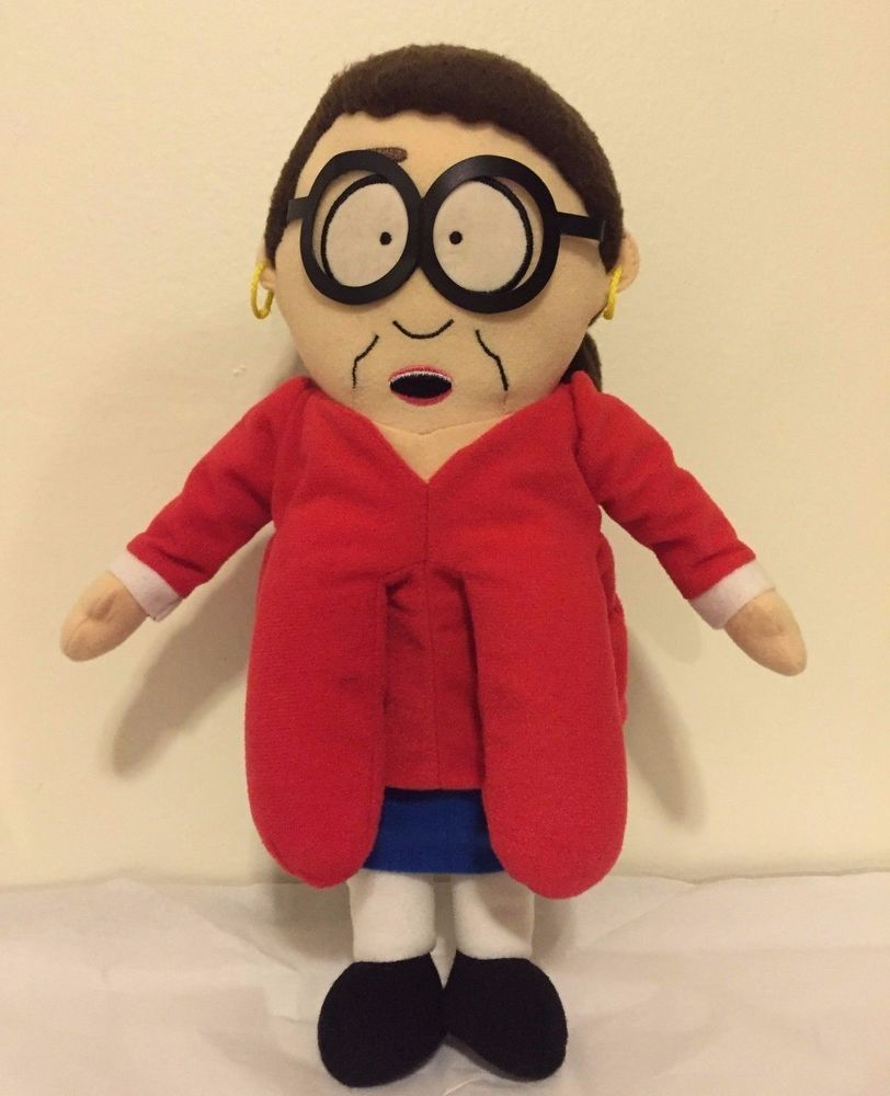 South Park Ms. Diane Choksondik Plush Doll Rare- Comedy