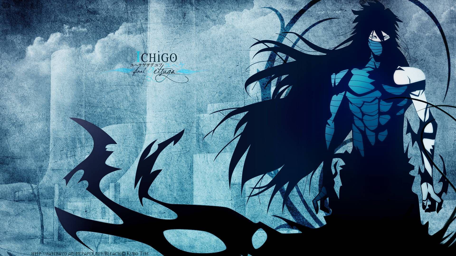 Bleach Kurosaki Ichigo Final Getsuga Tenshou Mugetsu Wallpaper Bleach Anime Ichigo Anime Wallpaper Bleach Anime