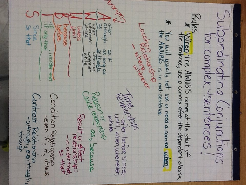 conjunctions and their uses pdf