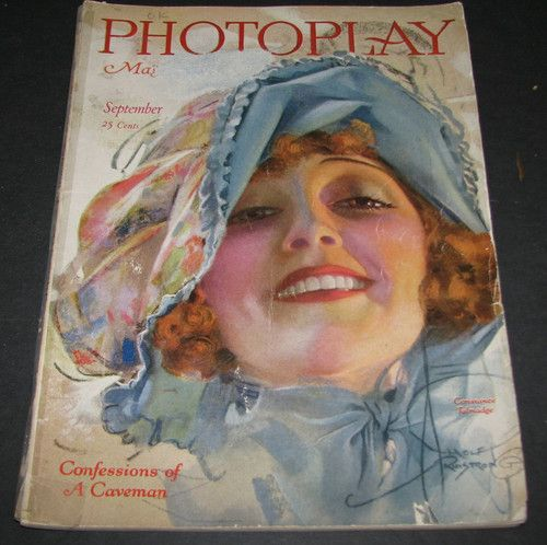 Photoplay Magazine Constance Talmadge Cover by Armstrong Sept 1920   eBay