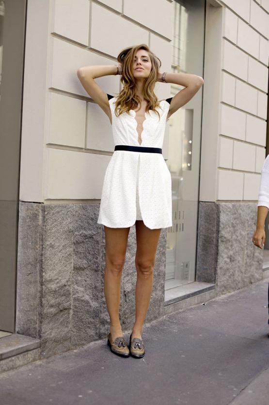 Spredfashion spredfashion.com Buy this look on Spredfashion Three Floor Whiteout Dress http://www.spredfashion.com/three-floor-whiteout-dress.html