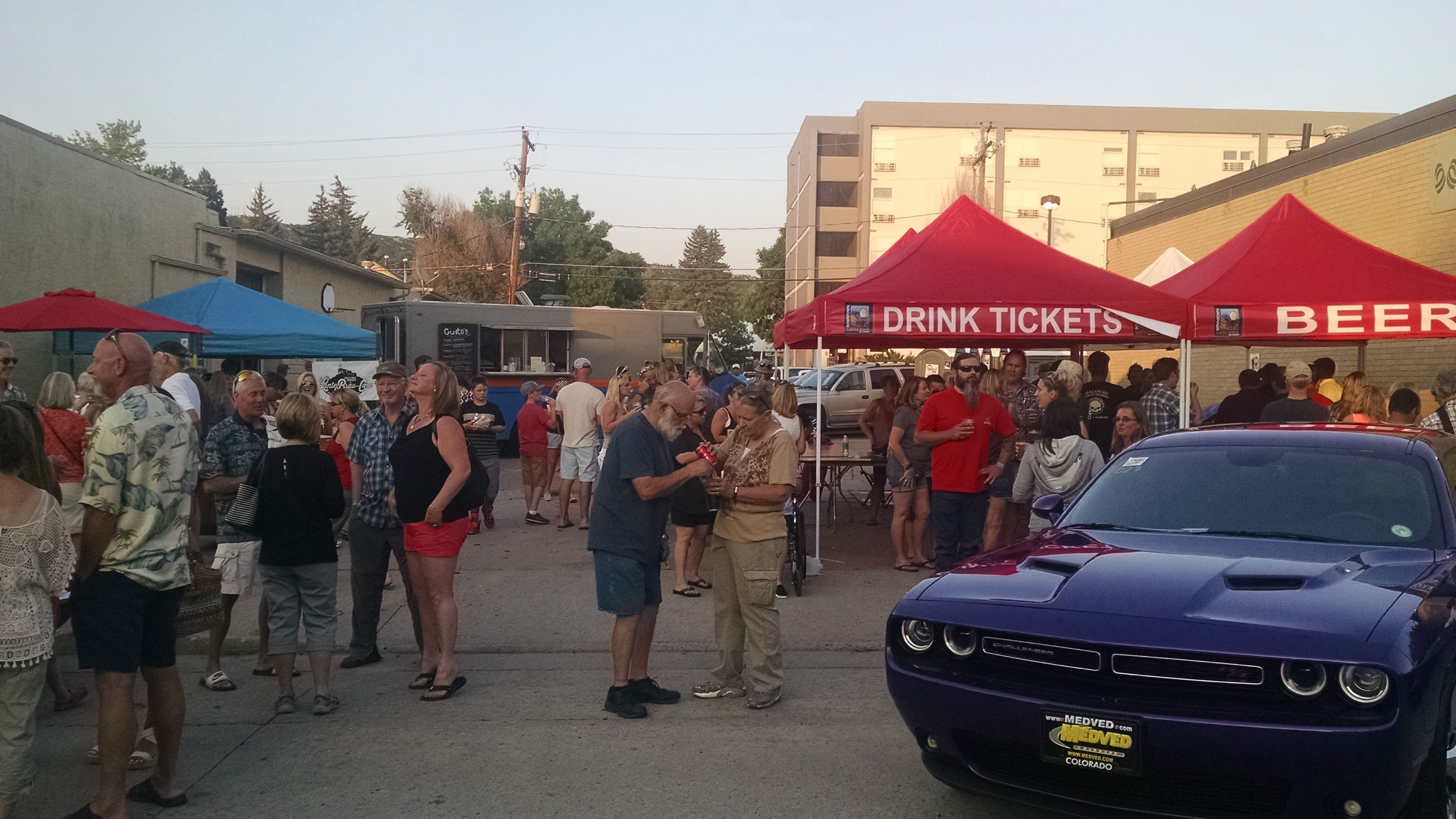 Food trucks beer and classic cars castle rock classic