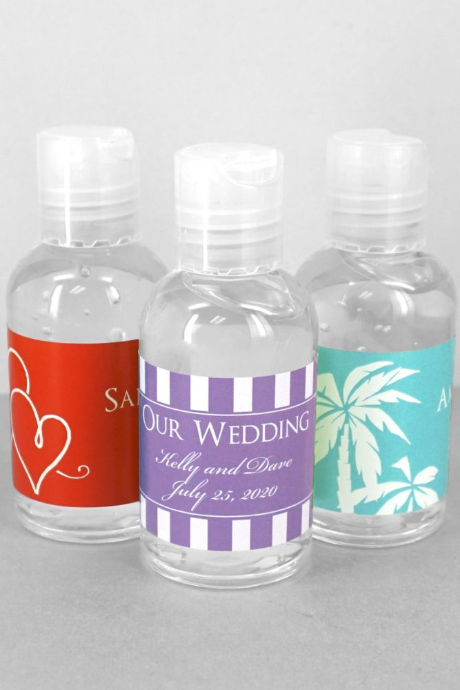 Db Exclusive Personalized Hand Sanitizer Wedding Party Favors