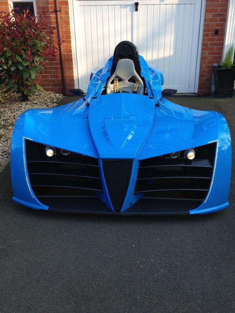 Kit Car Reverse Trike 3 Wheeler Morgan Gsxr 1000 Honda In