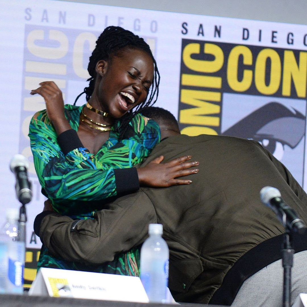 """30.2k Likes, 103 Comments - Lupita Nyong'o (@lupitanyongo) on Instagram: """"I was not ready! Ryan Coogler trying to kill us all with the #SDCC2017 #BlackPanther teaser!!"""""""