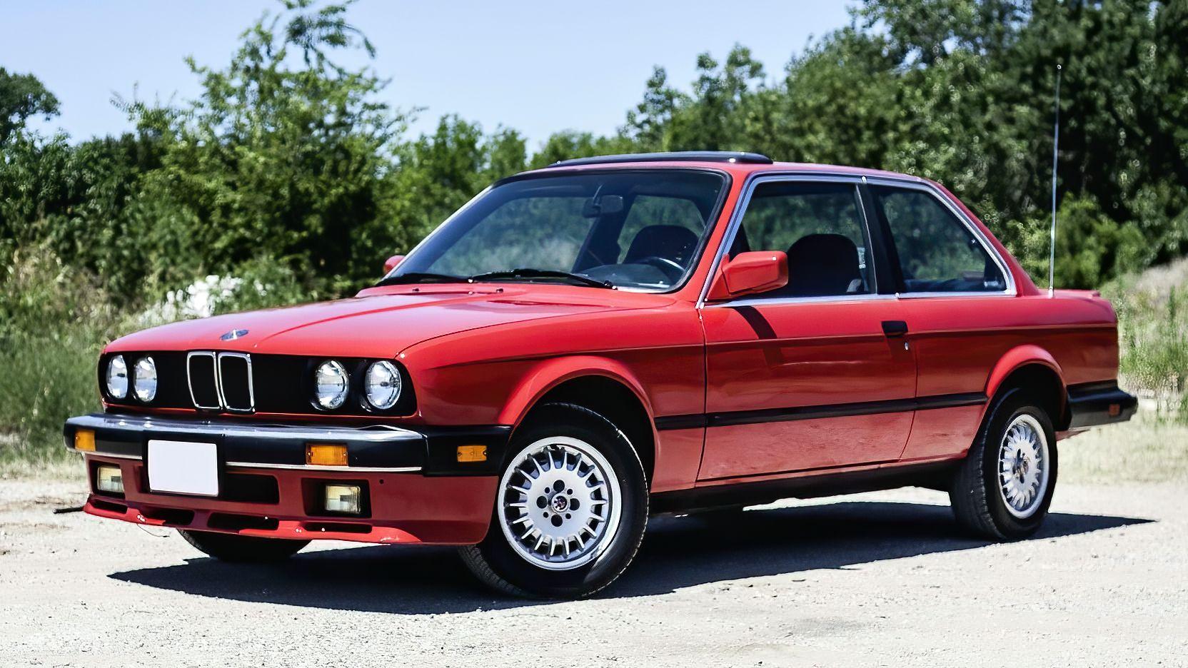 1985 Bmw 325e E30 Bmw 325e Bmw E30