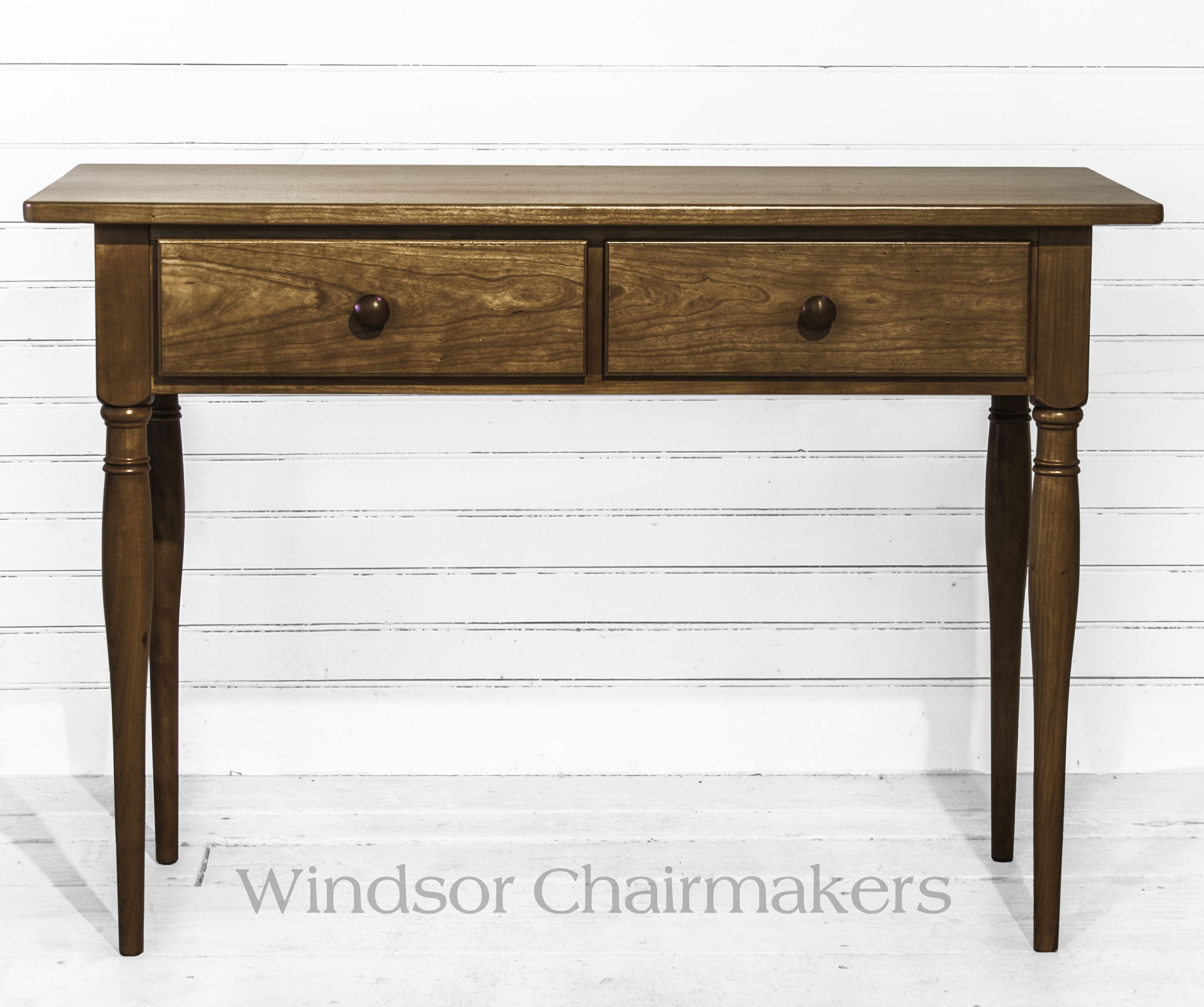 Small hall console table 42 x 16 x 29 high wood choices tiger small hall console table x x high wood choices tiger maple or cherry geotapseo Choice Image
