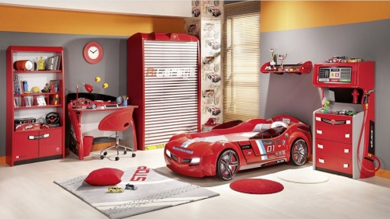 Twin Bedroom Sets for Boys: Single Beds with Dressers, etc.