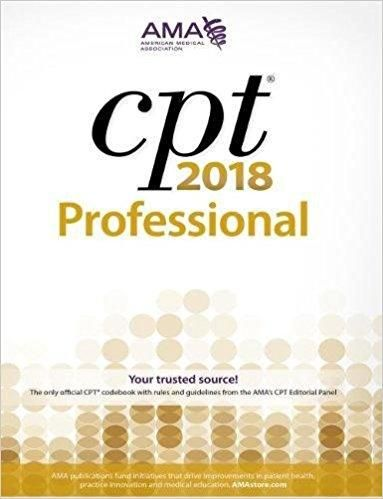 CPT 2018: Professional Edition ISBN-13: 978-1622026005