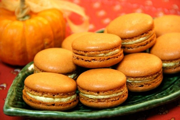 Indulge yourself with these delicious Pumpkin Spice Macarons. Here is a recipe on how to make them, from your own kitchen or one of your vacation rentals!