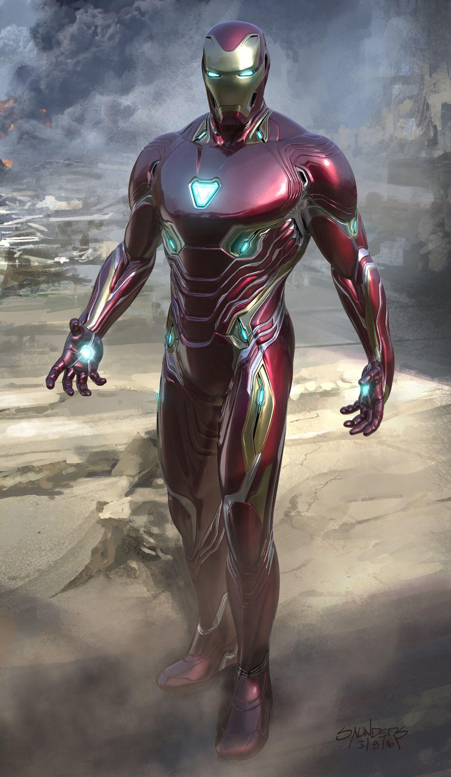 Artstation Avengers Infinity War 2016 Iron Man Mk 50 Final