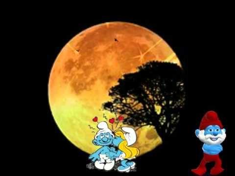 Romantikgute Nacht Schönen Abend Süße Träume Und Liebe