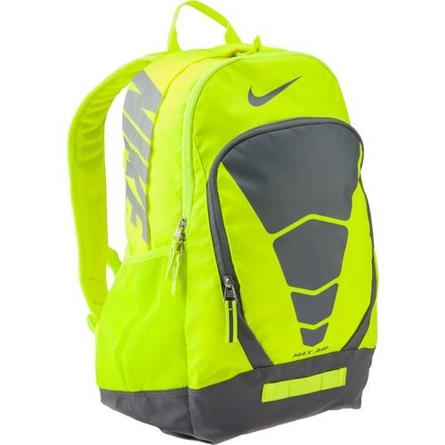 nike air max backpack yellow