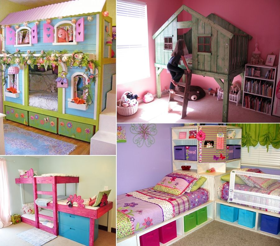 15 diy kids bed designs that will turn bedtime into fun for Designs of beds for teenagers