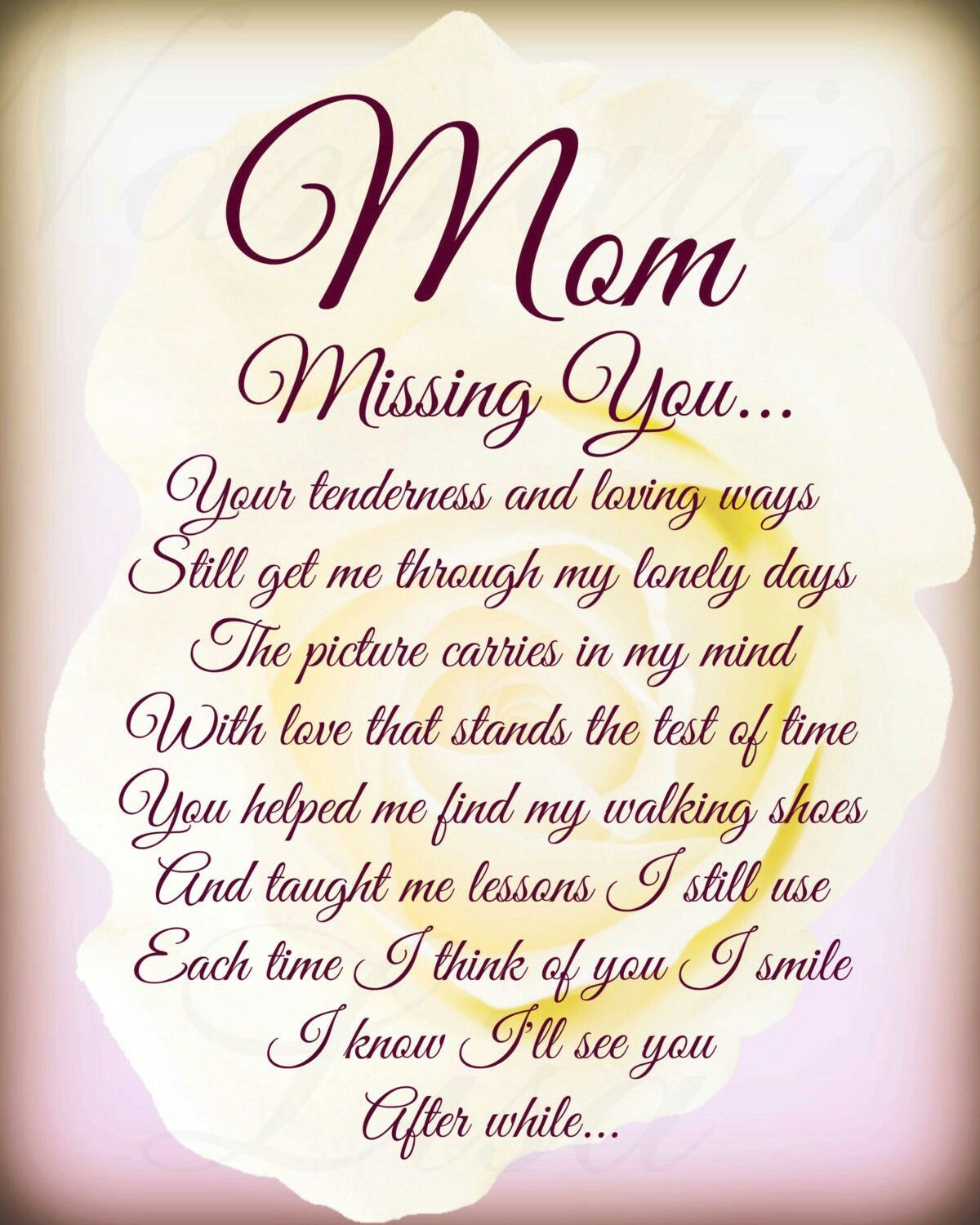 Pin By Arvinda Kathrani On Miss You Memories Mom In Heaven