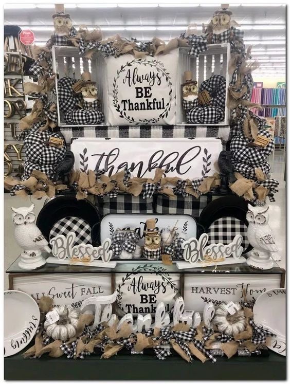 75+Buffalo Plaid Fall Decorations to make this Chilly