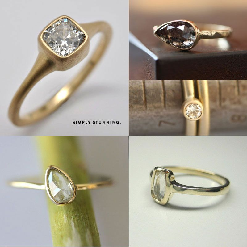 Love The Pear Shaped Ones My Style Rings Handmade