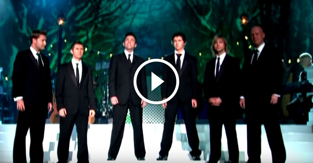 Celtic Thunder is a popular Irish singing group, and they are incredible.