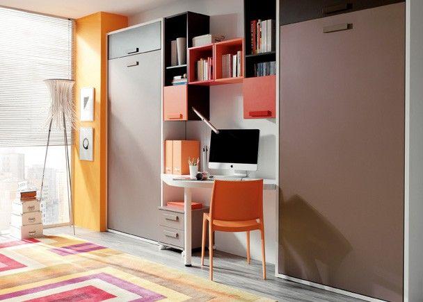 Fotografias de dormitorios con camas abatibles