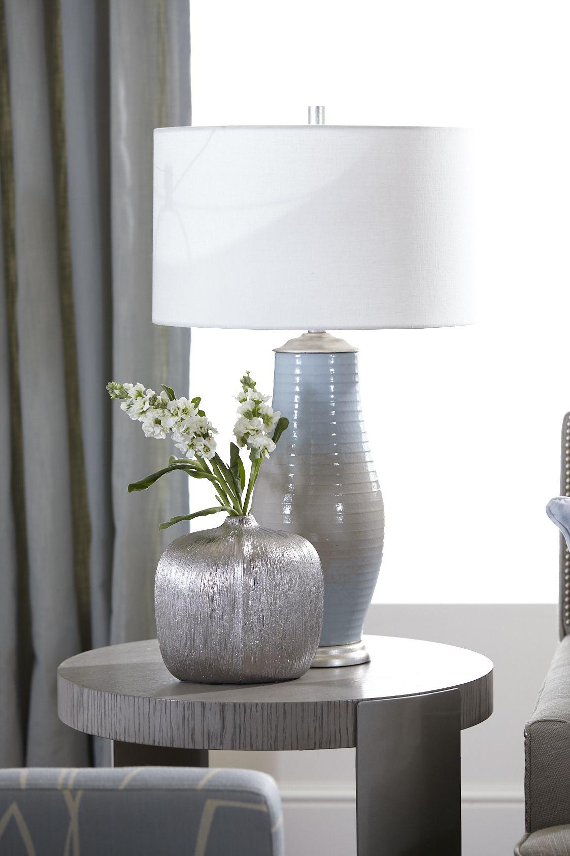 Azora Ceramic Table Lamp In 2020 Ceramic Table Lamps Lamp