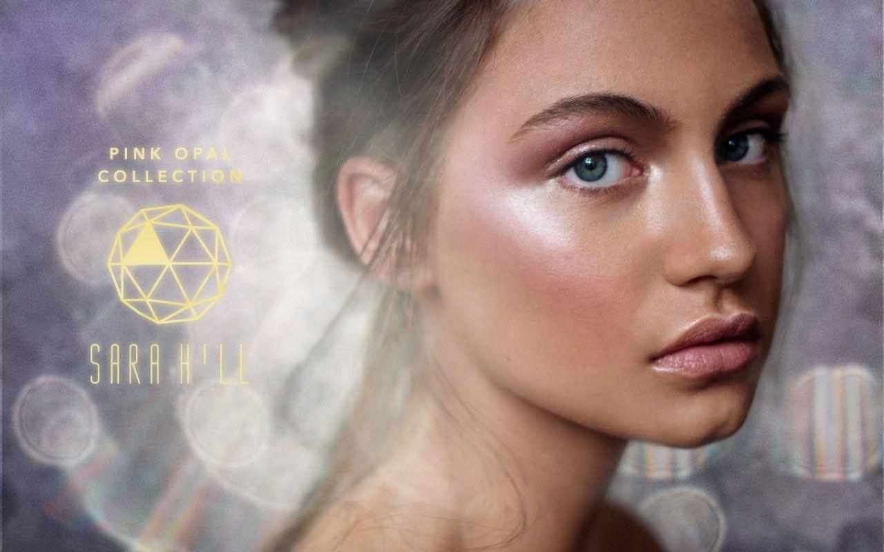 Sara Hill Makeup Pink Opal Collection sarahillmakeup