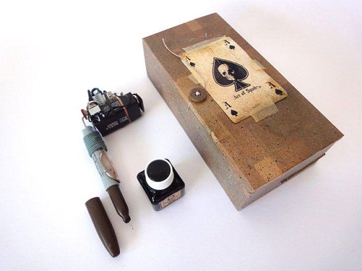 Goof vermeulen builds prison tattoo machines from found