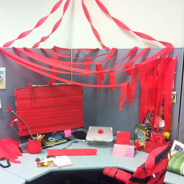 50th Birthday Office Ideas: Birthday Surprise For Debbie!