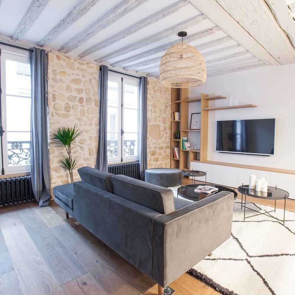 Appartement Paris 6e 50 M2 Fonctionnels En 2020 Appartement Paris Appartement Deco Appartement