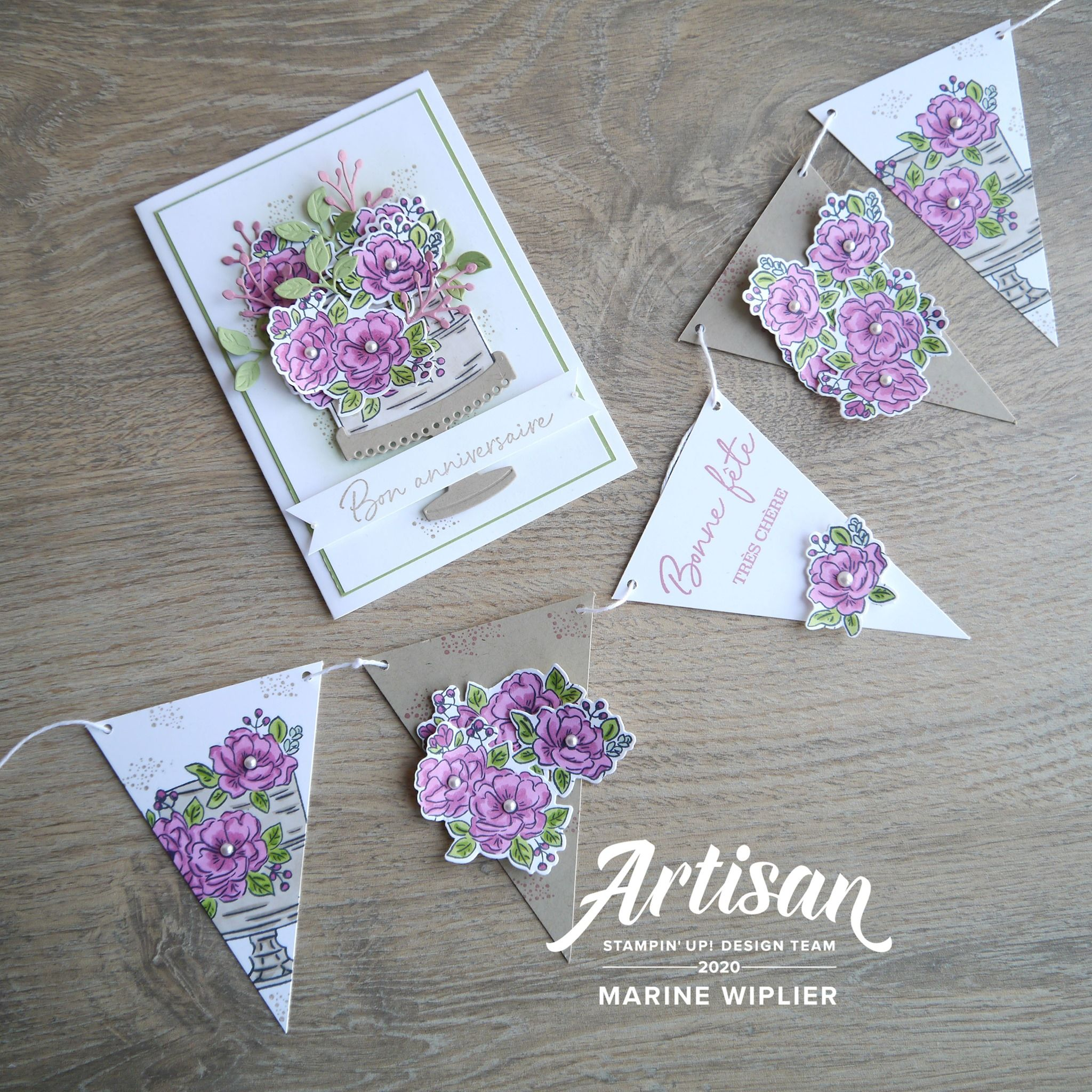 Stampin'Up! Artisan Design Team Blog Hop Coordination