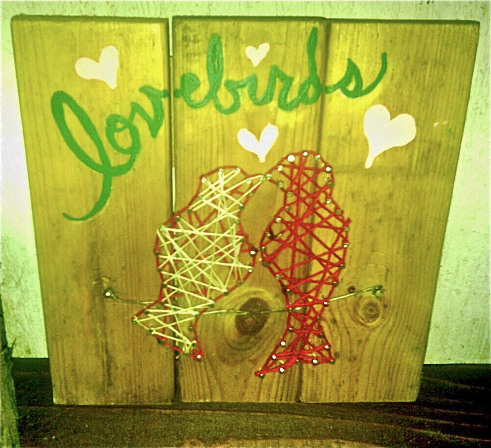 Valentine\'s Day Gift, Handmade & Affordable! Reclaimed Pallet Wood ...