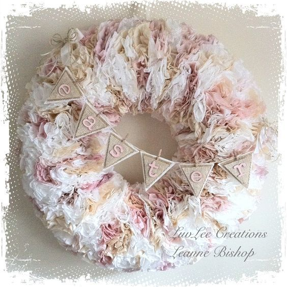 Coffee Filter Crafts Shabby Chic Lamp Shades