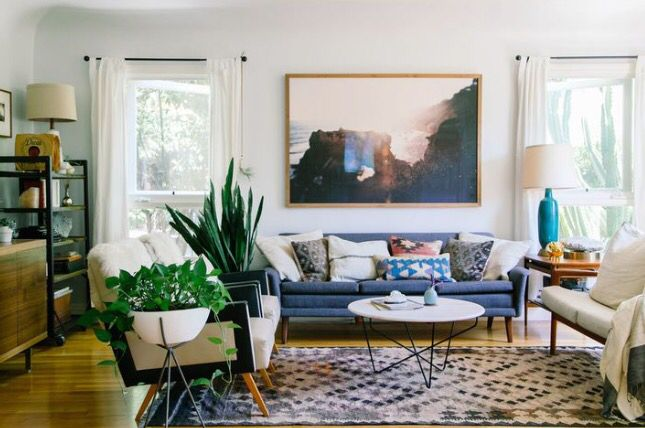 Whats My Home Decor Style   Mid Century Modern Mid Century Meets Earthy: