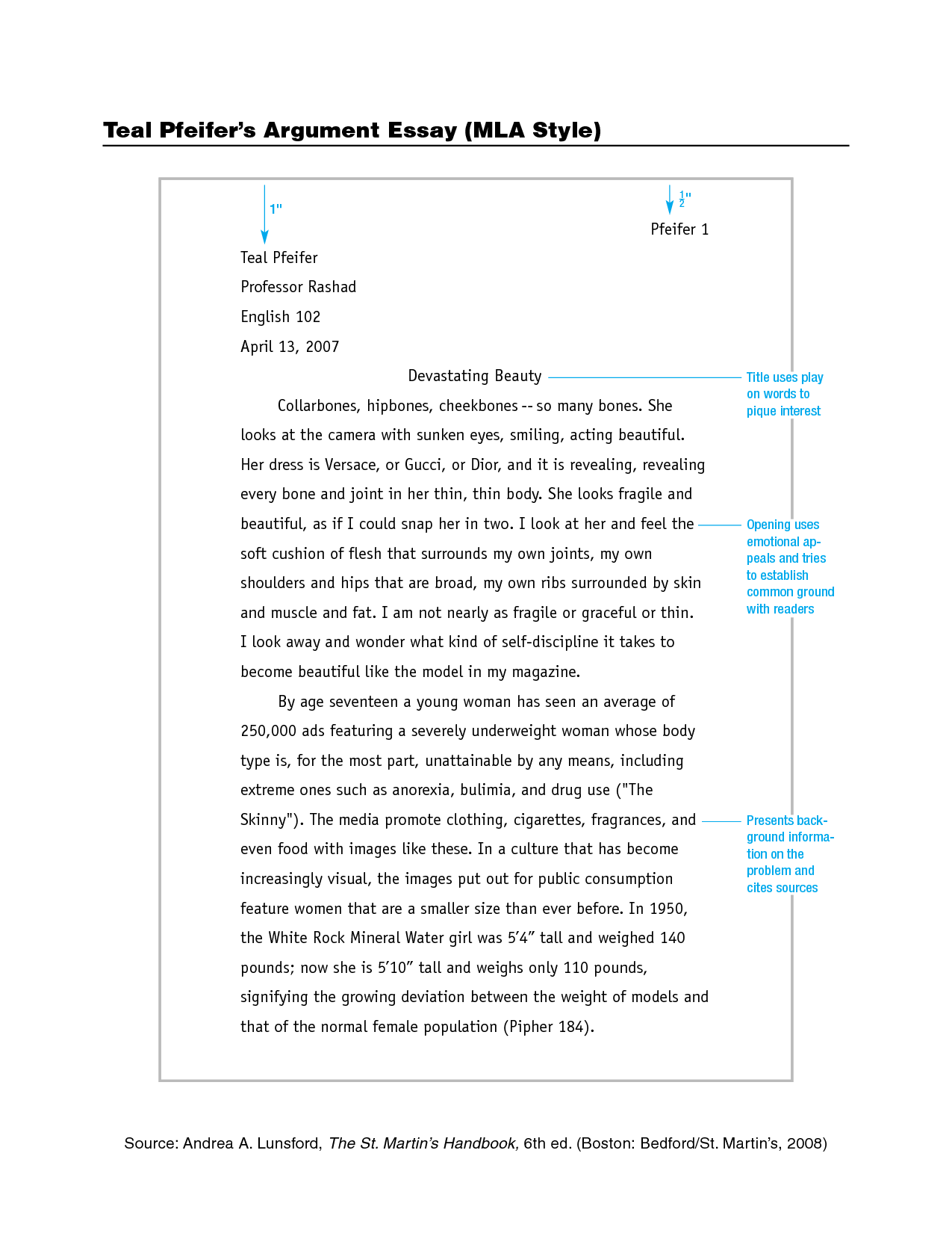 Examples Of A Thesis Statement For A Narrative Essay Mla Format Paper Google Search Mla Format Pinterest Students  Abraham Lincoln Essay Paper also Proposal Essay Topics List Mla Format In Papers  Underfontanacountryinncom Essay Proposal Sample