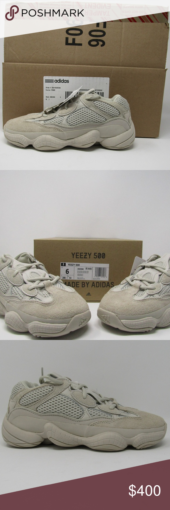 b5a2cf9124556 YEEZY 500 DESERT RAT BLUSH DB2908 SIZE 6 Authentic THIS SHOE IS BRAND NEW  IN BOX