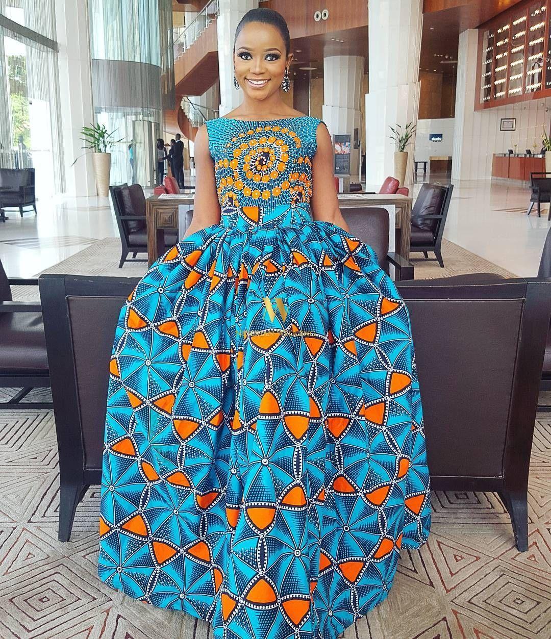 Nigerian maxi dresses
