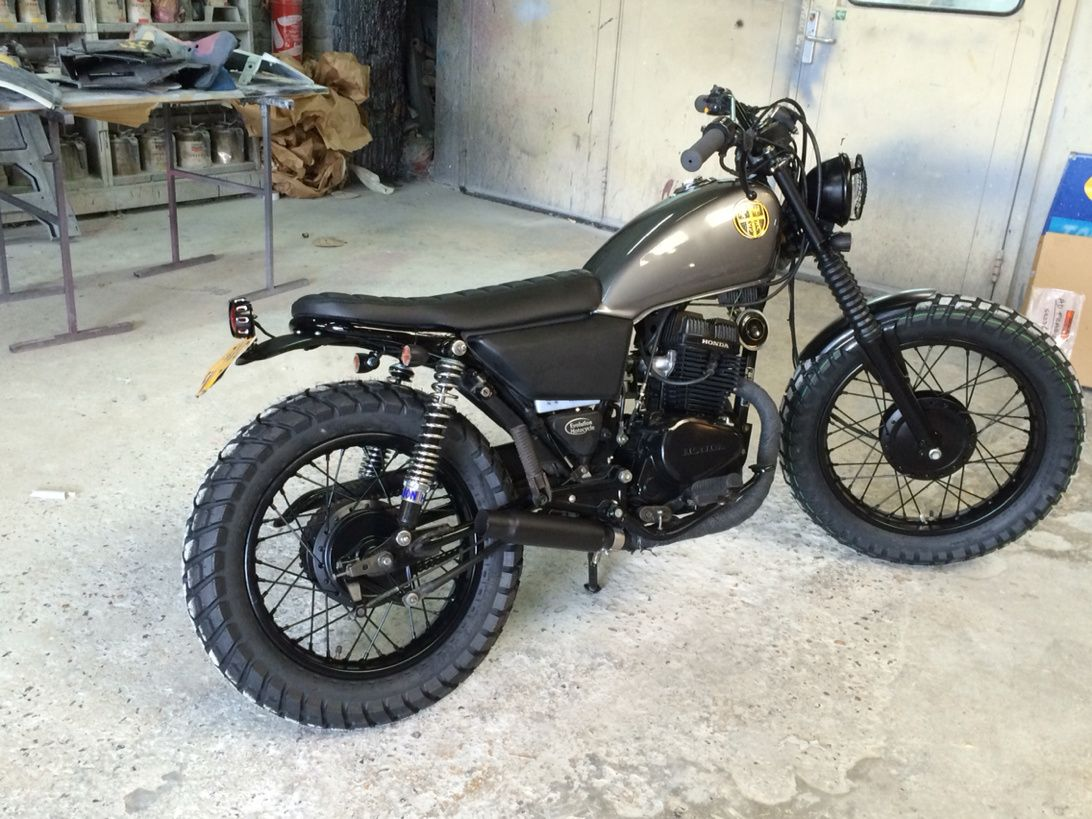 honda cm 125 scrambler caferacers. Black Bedroom Furniture Sets. Home Design Ideas
