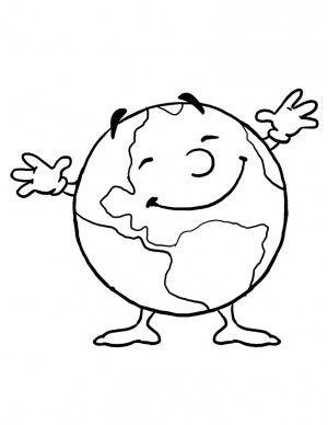 Figuras Para Colorear Planeta Tierra Para Colorear Planeta Tierra Para Ninos La Tierra Dibujo