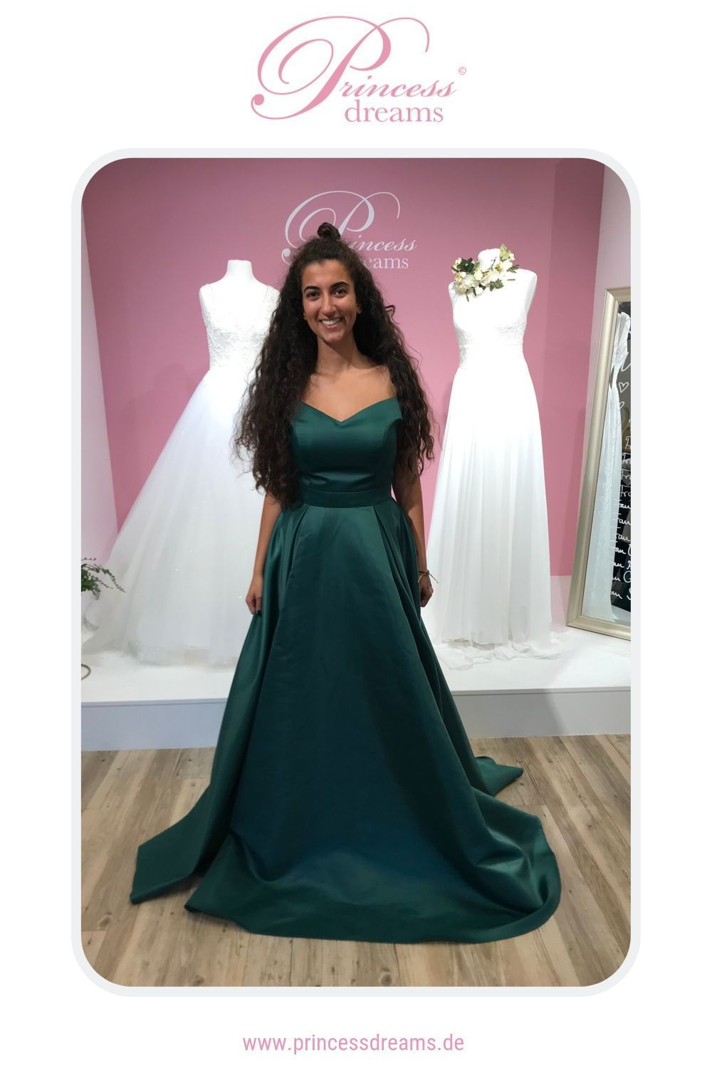 princess collection in forest | dieses tolle abendkleid ist