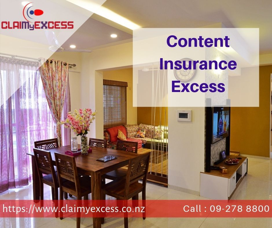 Content Insurance Excess Is Amount Which Covers In Your Insurance Policy Against Your Home Property Lo Content Insurance Household Items Insurance