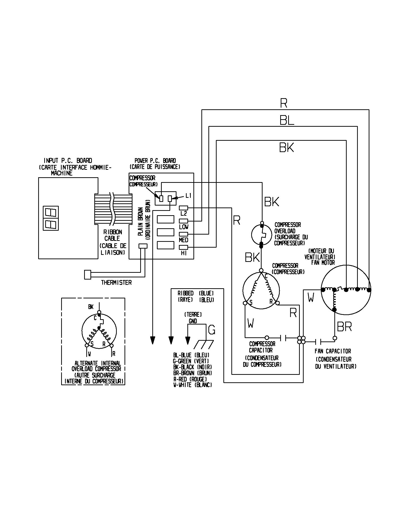 Unique Wiring Diagram Of Lg Window Ac Diagram Diagramtemplate Diagramsample Diagrama De Circuito Circuito
