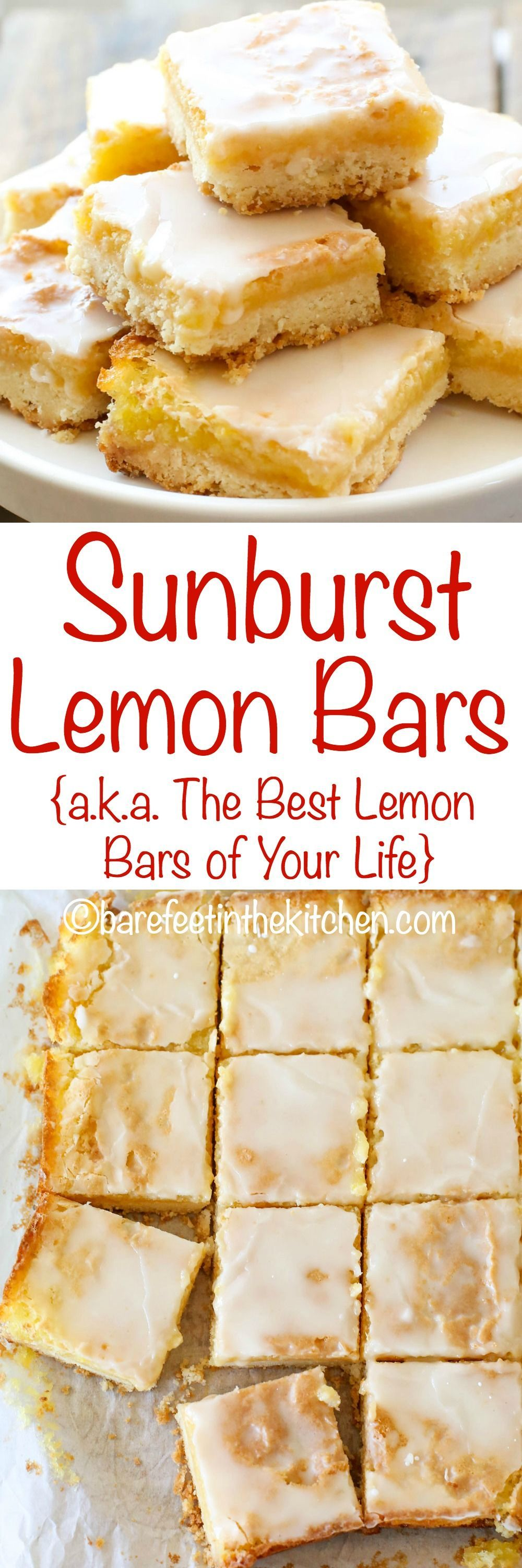 Lemon Bars are a lemon lover's dream come true! get the recipe at
